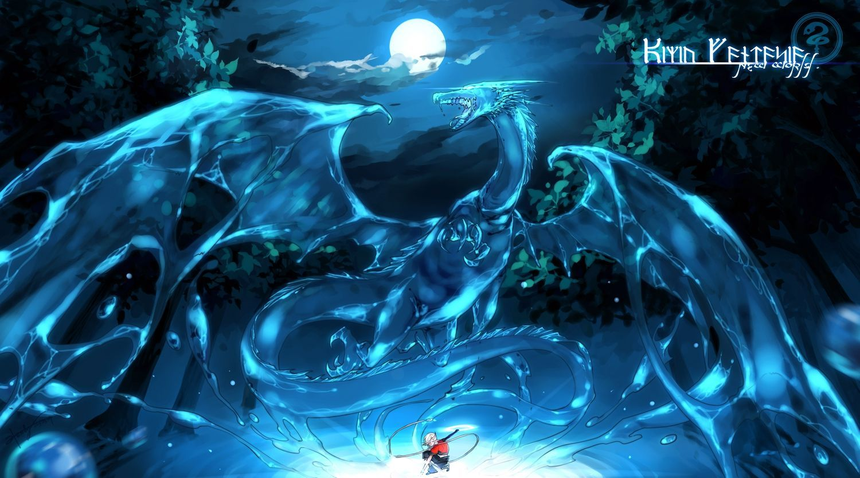anime water dragons google