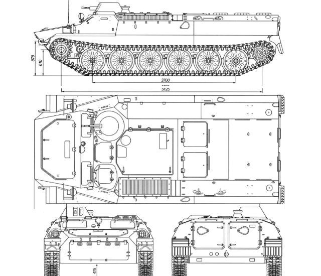 The russian mt lb multi purpose vehicle blueprint pinterest the russian mt lb multi purpose vehicle malvernweather Gallery