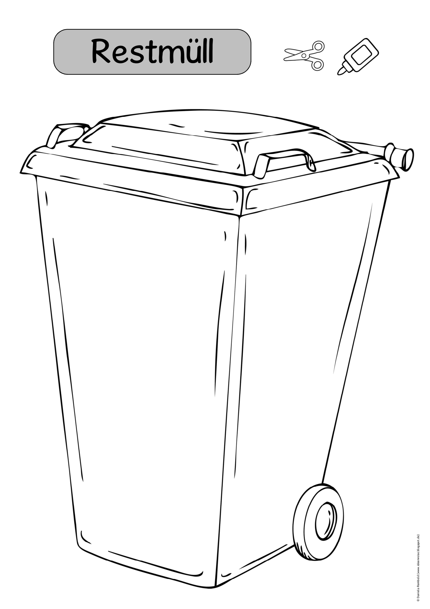 Shared With Dropbox Garbage Truck Graphic Organizers Earth Day