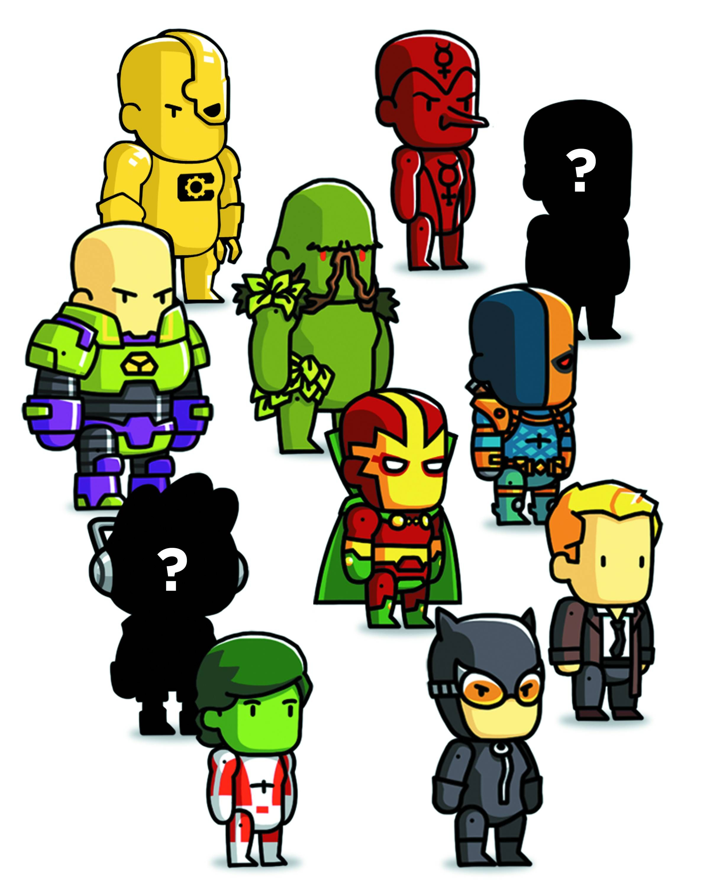 Scribblenauts Series 4  | Mini Figures | Series 4, Comics