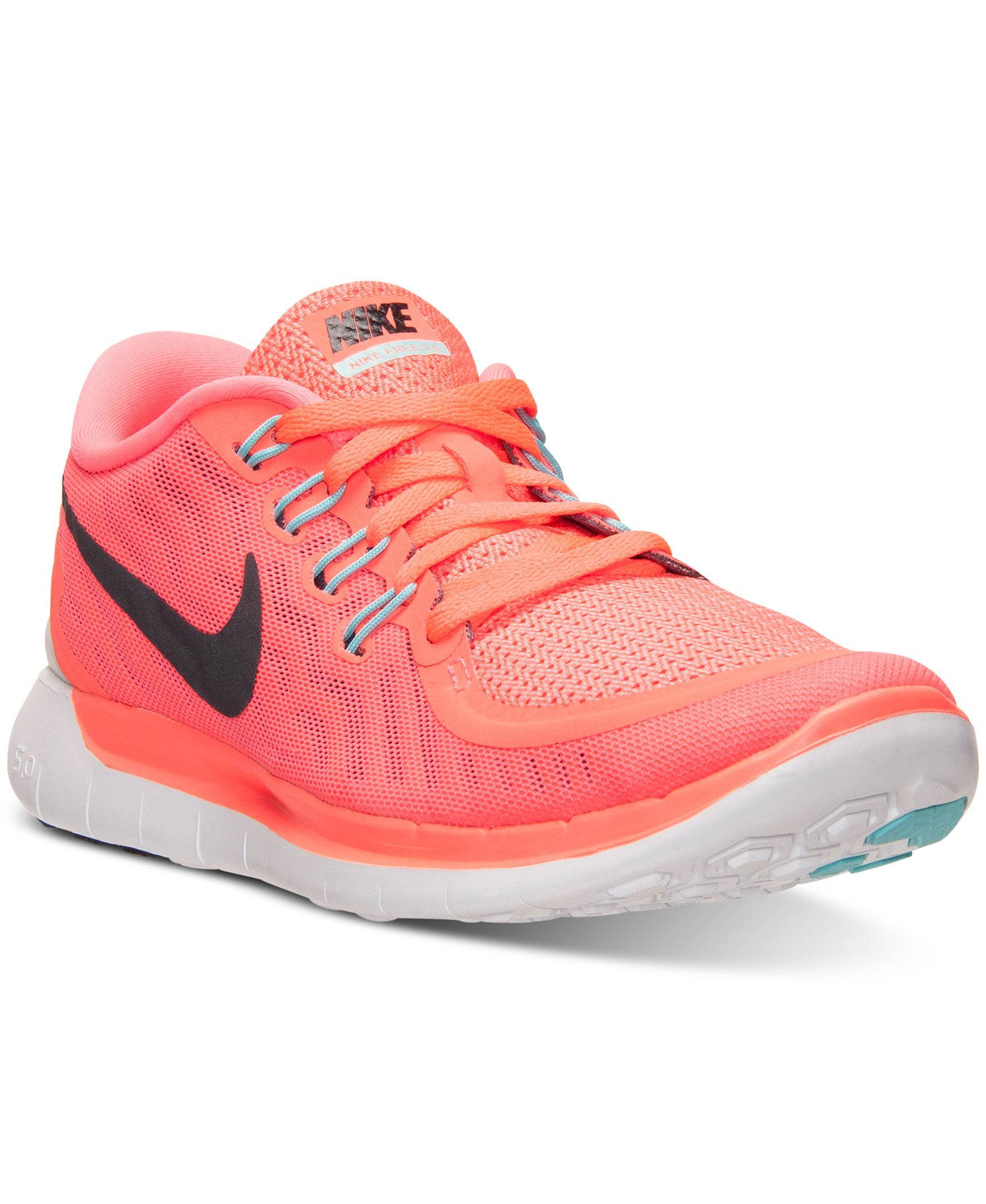 huge selection of 90870 86776 Nike Women s Free 5.0 Running Sneakers from Finish Line