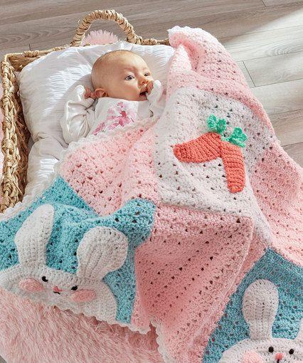 Luv My Bunny Blanket By Michele Wilcox - Free Crochet Pattern ...
