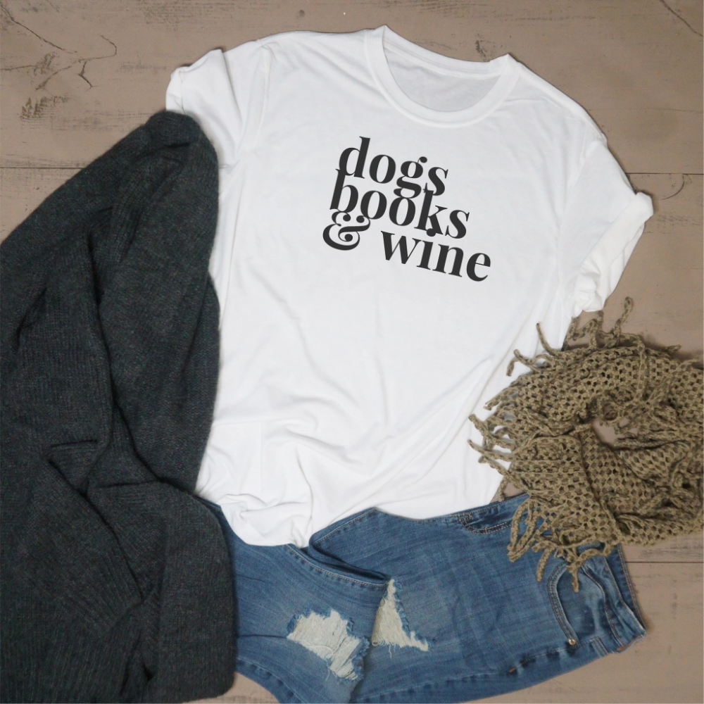 Dogs, Books, and Wine #3dayweekendhumor