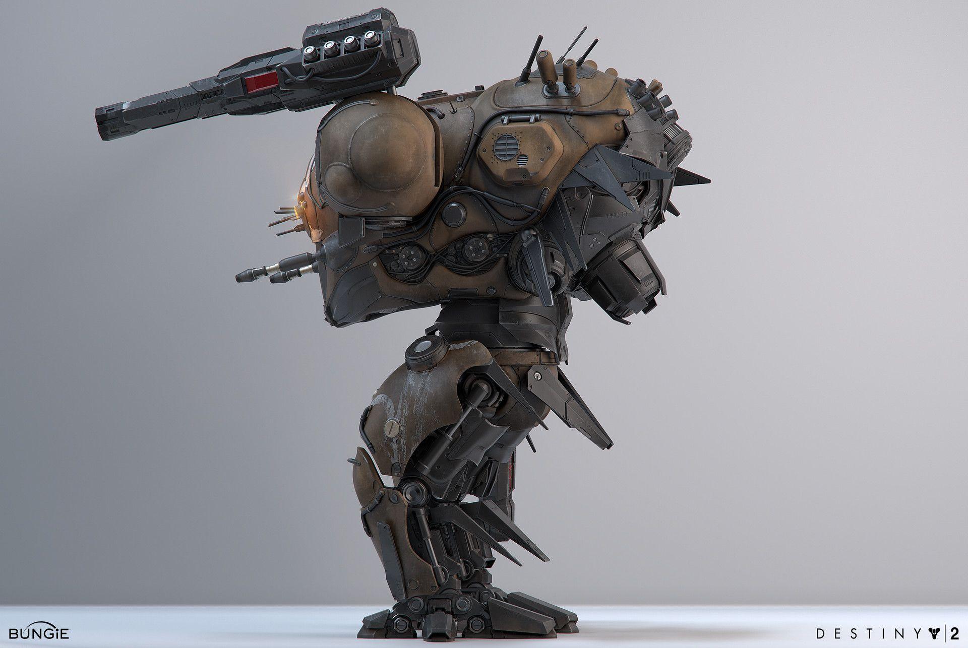 ArtStation - Destiny 2 Insurrection Prime Raid Boss, Roderick Weise