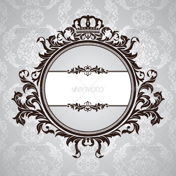 Vintage Vector Border Creative Retro Frame Png Transparent Clipart Image And Psd File For Free Download Vector Free Design Elements Graphic Design Art