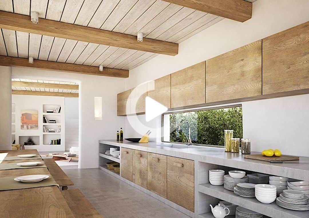 La Cuisine Un Nouveau Restaurant Avec Moderne Design D Interieur Pour Manger Haut De Gamme In 2020 Home Decor Kitchen Kitchen Design Kitchen Interior
