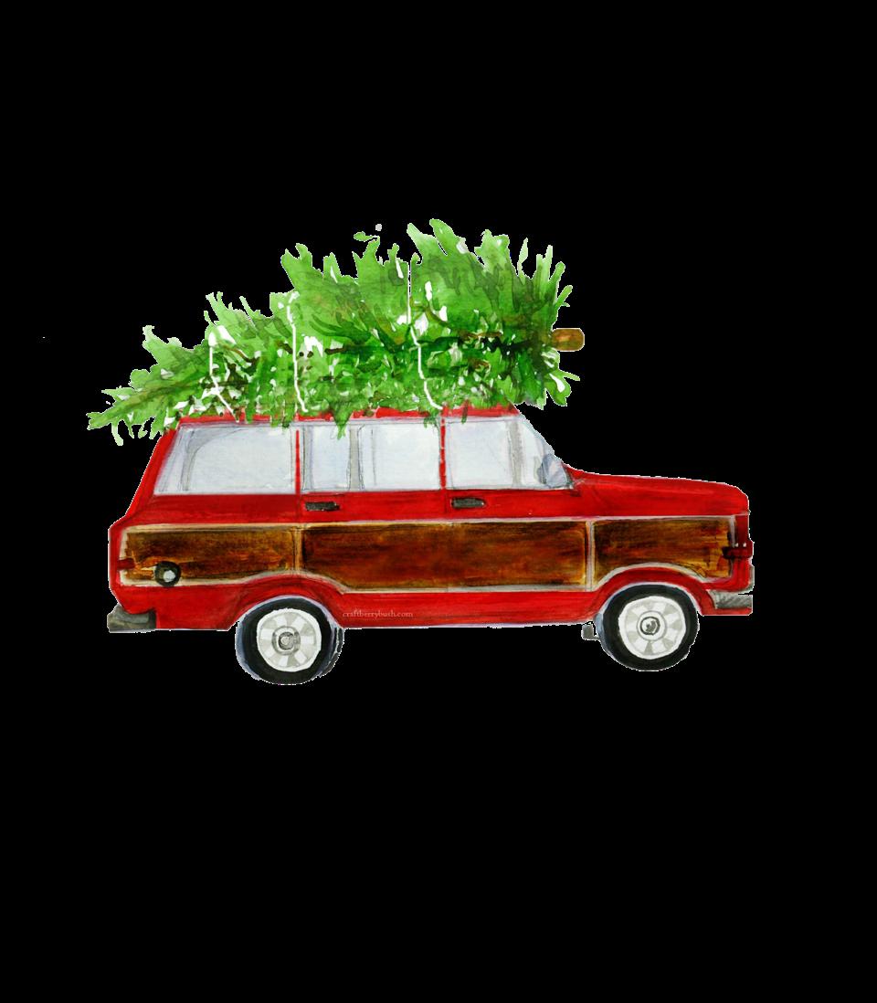 Christmas Station Wagon Free christmas printables