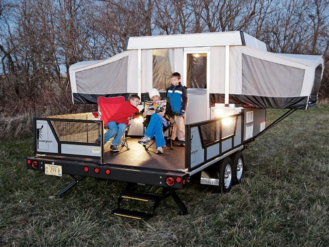 129 0607 01 Z+2006 Fleetwood Scorpion S2+camper Cargo Hauler - Photo 8988041 - 2006 Fleetwood Scorpion S2 - Camper Hauler