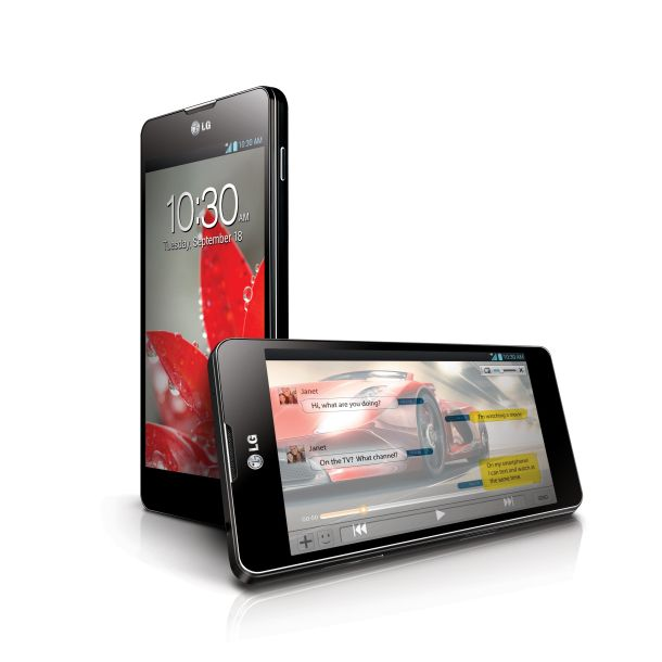 LG Optimus G :::  ** 5.19 inches tall, 2.71 inches wide, and 0.33 inch thick  ** weighs 5.11 ounces  ** sports a 4.7-inch True HD IPS+ display with a 1,280x768-pixel resolution and an aspect ratio of 15:9  ** 1.5GHz Snapdragon S4 Pro quad-core CPU  ** With Adreno 320 GPU and 4G LTE   ** 2,100mAh battery  ** Has NFC support  ** 13 MP camera