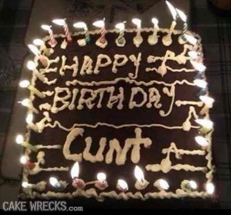 Clint The Name Is Clint Cakewrecks Happy Birthday