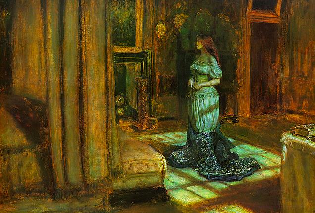 John Everett Millais, The Eve of St Agnes, 1863
