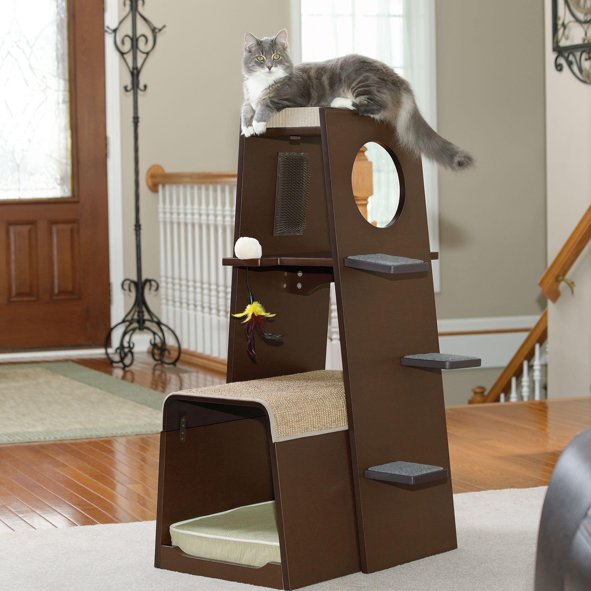 modular modern cat tower – cat furniture  animals  pinterest  - modular modern cat tower – cat furniture