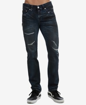 dd51f3a0005 True Religion Men s Rocco Skinny Jeans - Blue 34