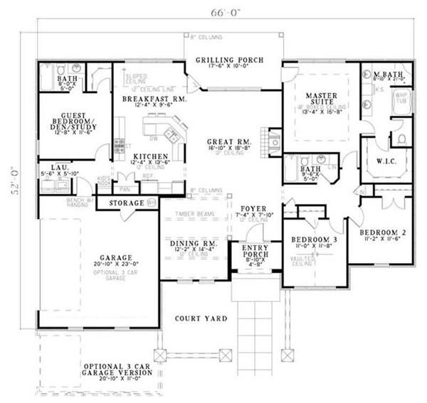 Traditional Country European Tuscan House Plans Home Design Ndg 1145 16900 New House Plans House Plans One Story Ranch Style House Plans