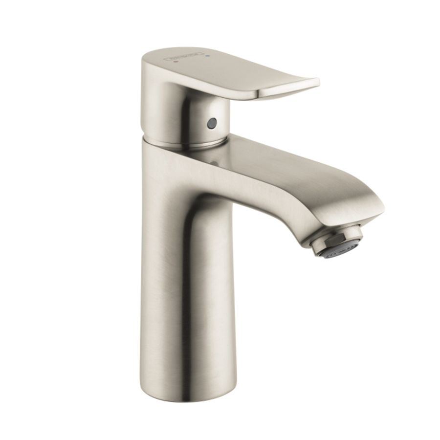 Hansgrohe Metris Brushed Nickel 1Handle Single Hole Watersense Brilliant Brushed Nickel Bathroom Faucets Review