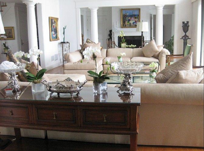 lovely living room / colors