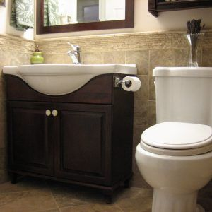 Half Bathroom Design Ideas Enchanting Half Bathroom Makeover Ideas  Httptechnologytrap Design Decoration