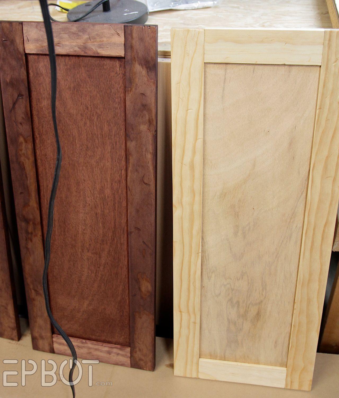 Vintage Rustic Kitchen Cabinets: EPBOT: DIY Vintage Rustic Cabinet Doors