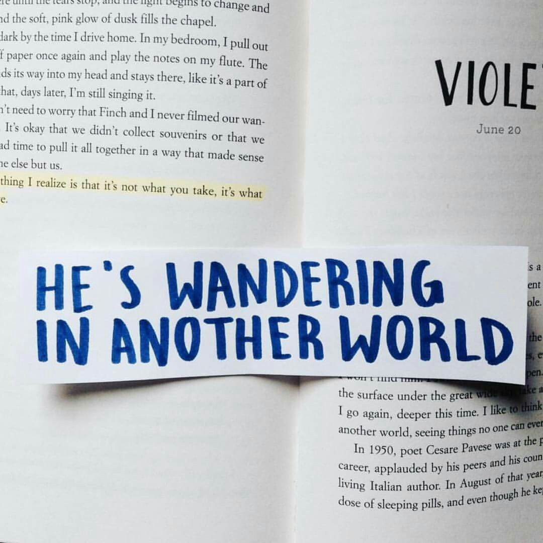 All the bright places by jennifer niven powerful words
