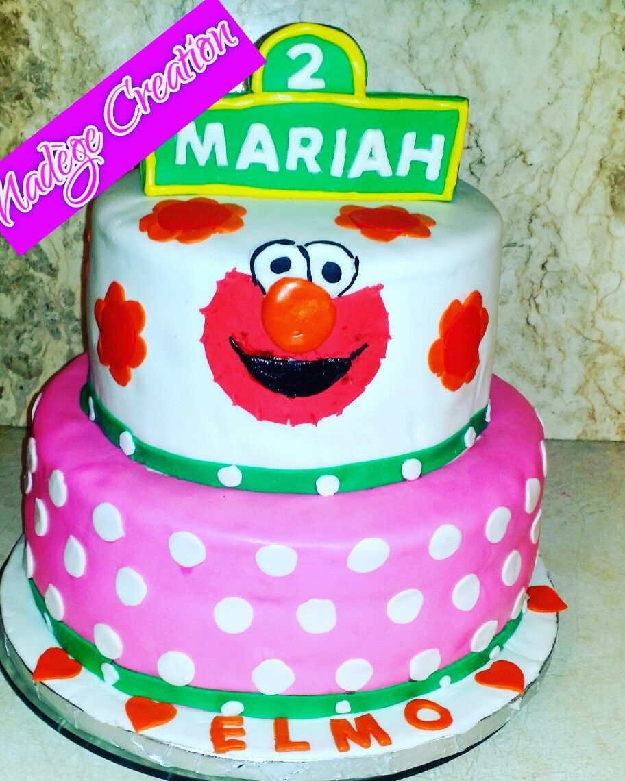 Cakes by Nadge Creation ELMO BIRTHDAY CAKE Delicious