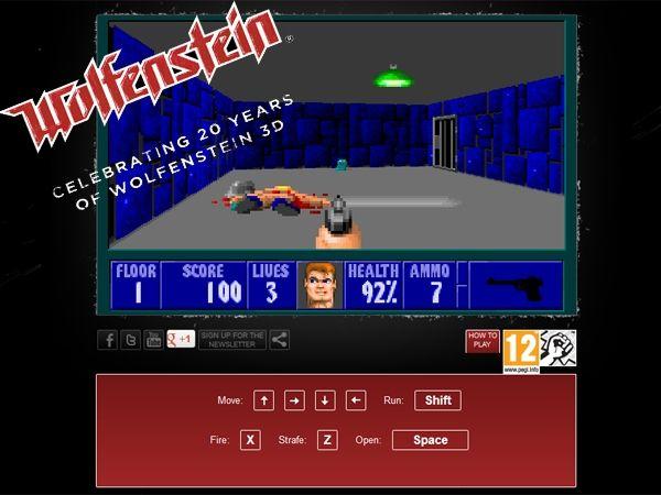 Celebrating 20 years of Wolfenstein 3D