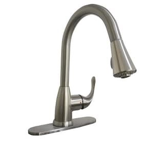Tuscany® Sharena 1-handle Pull Down Kitchen Faucet in Stainless ...