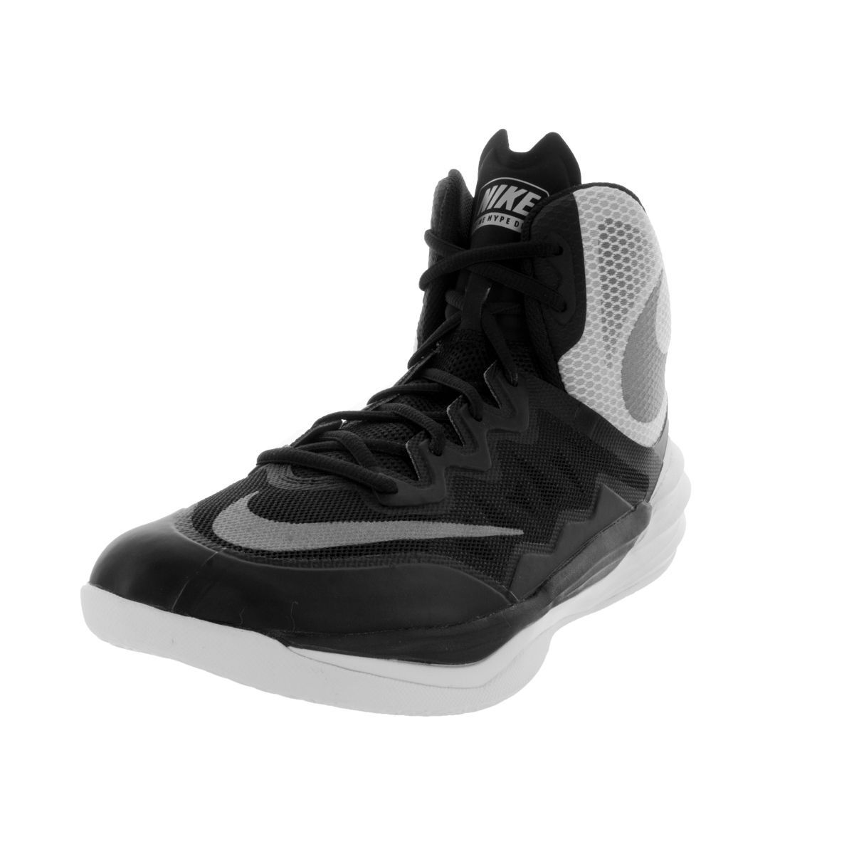 new arrival 3b4e0 5eda1 Nike Men s Prime Hype DF II  Reflecting Silver White Flat Silver Synthetic  Basketball  Shoe