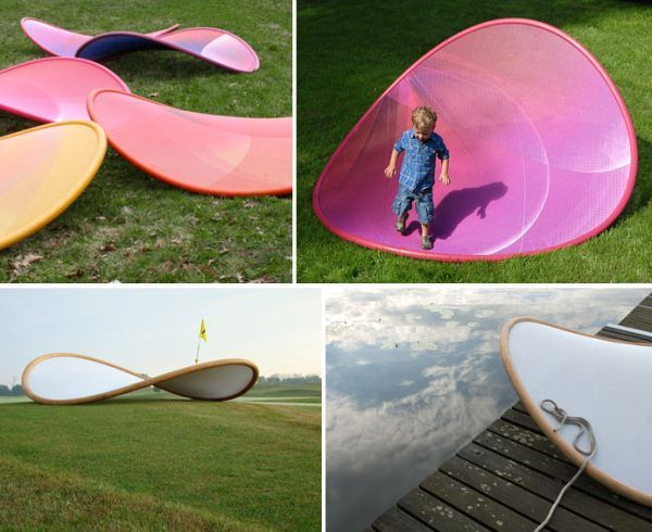 Relaxing Shallow Swing Potato Chip Chair For Your Garden Furniture