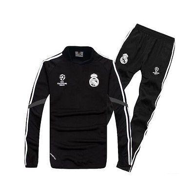 Real Madrid Football Soccer Training Warm Up Tracksuit Sweater Top Bottom Set Men S Sportswear Training Real Madrid Real Madrid Football Soccer Training