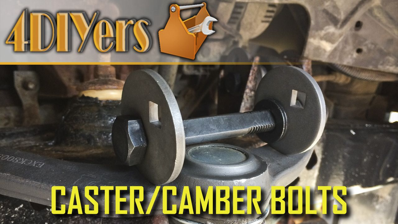 How To Install Caster And Camber Bolts On A Ford Ranger Ford Ranger Installation Ford