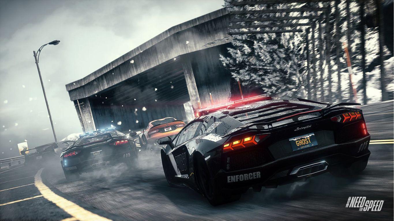 1366x768 Wallpaper Need For Speed Rivals Lamborghini Aventador Lamborghini Veneno Dodge Srt Viper Mobil Sport Mobil Pria