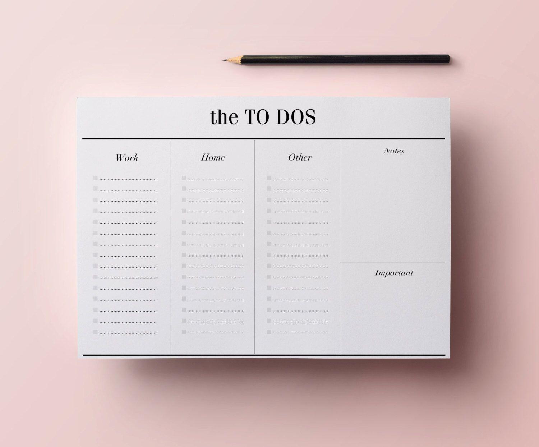 work planner organizer