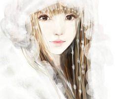我自静默向韶华【插画】;  from topit.me