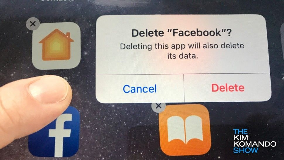How to delete the accounts of any apps you remove from