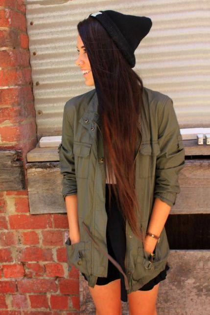 Subtle dark brown ombre hair. Might want to do when my hair is really long!  @ http://seduhairstylestips.com