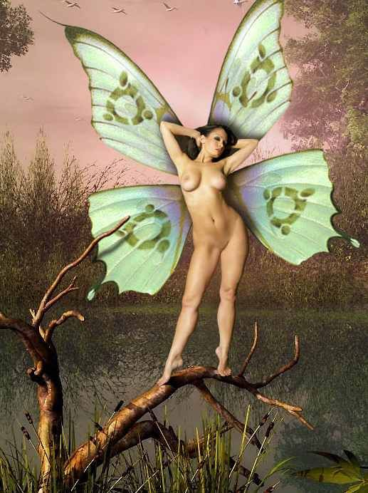 fantasy Sexy art fairy naked