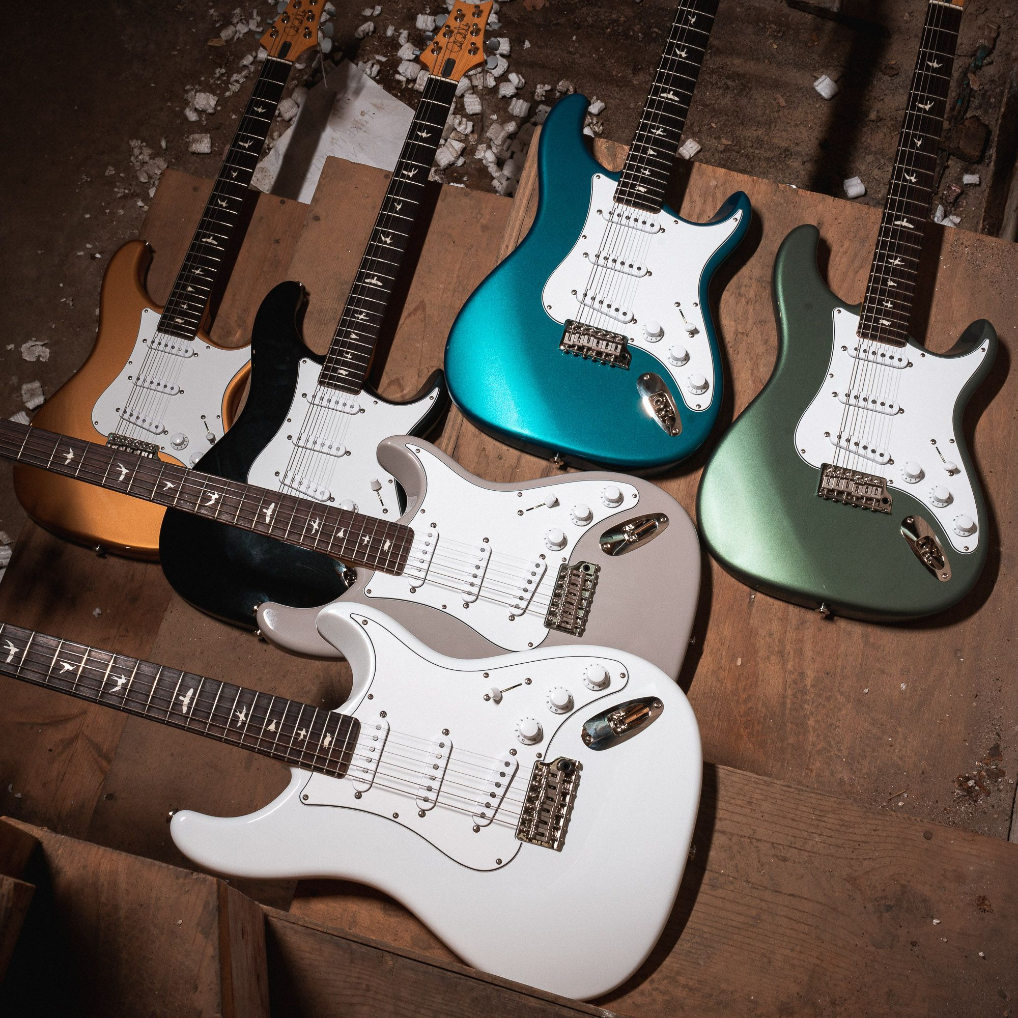 Brand New Silver Sky Series Prs John Mayer Collaborations Are In Get Em Before These Birds Have Flown Chicago Prs Guitar Guitar Guitar Photography