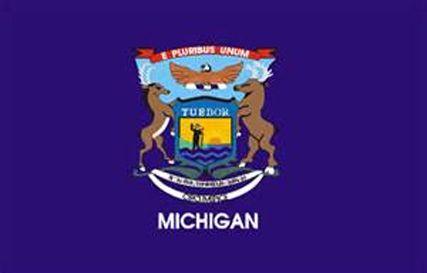 Michigan Flag Michigan State Flag Michigan Michigan Flag