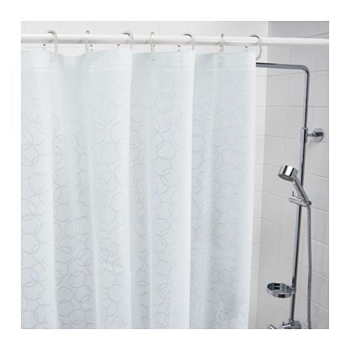 Us Furniture And Home Furnishings White Shower Curtain Shower