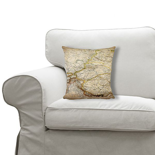 Cushion Map of inner Asia