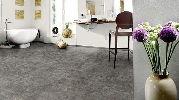 Raumbild von Bodenbelag Wineo Purline Eco Bio Bodenbelag Stone - bodenbelag küche pvc