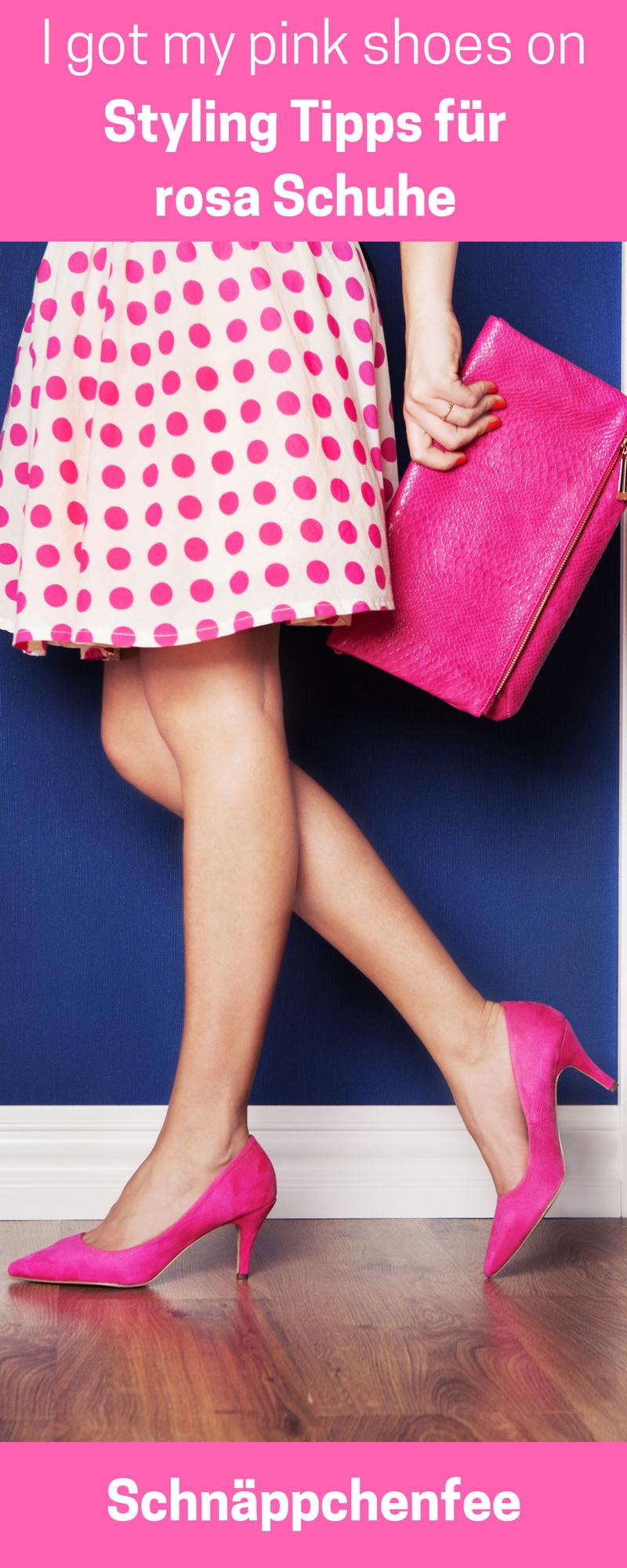 Rosa Schuhe kombinieren: Die schönsten Frühlingsoutfits