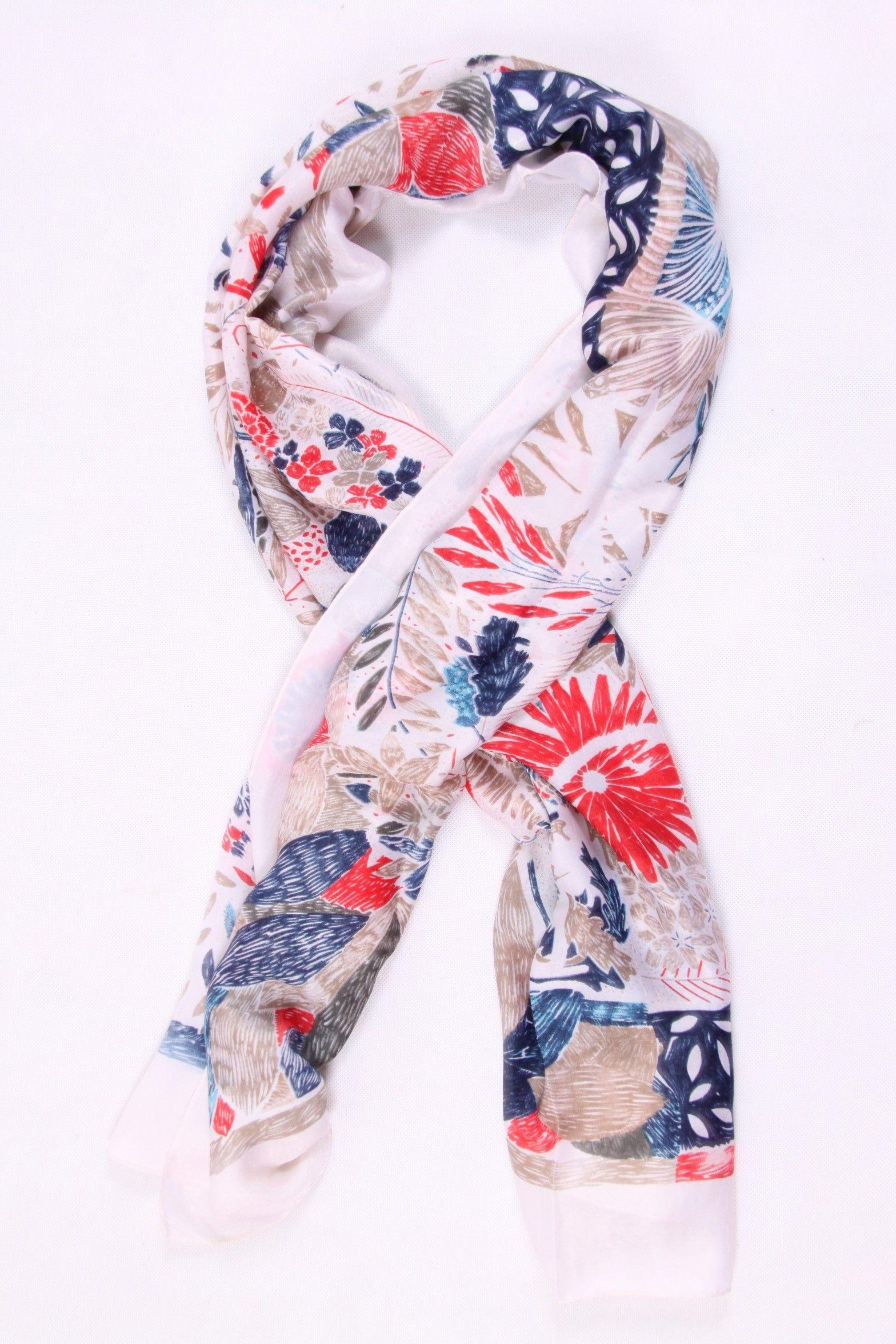 c11fd71b5ccd Foulard rouge 100 % soie   Foulard Femme   Pinterest
