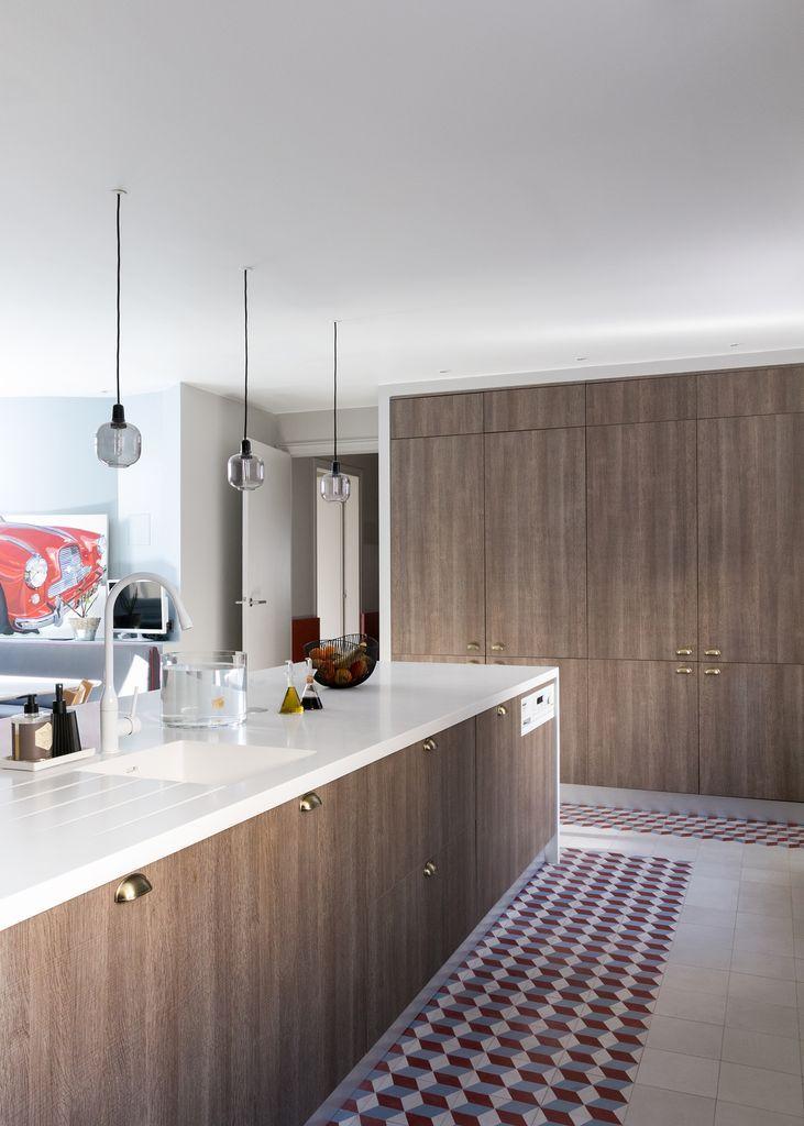 Gcg Architectes cuisine appartement parisien de 250m2 gcg architectes cocinas