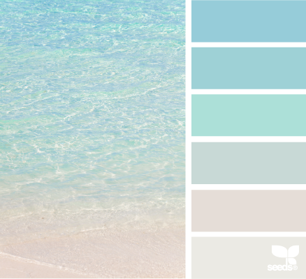 Bon Crystal Clear I.love.this.website. Colour Swatches By Theme Photo...  Flowers, Scenery, Food, Etc. P.S. My Beach House Will Be Painted With These  Colours.