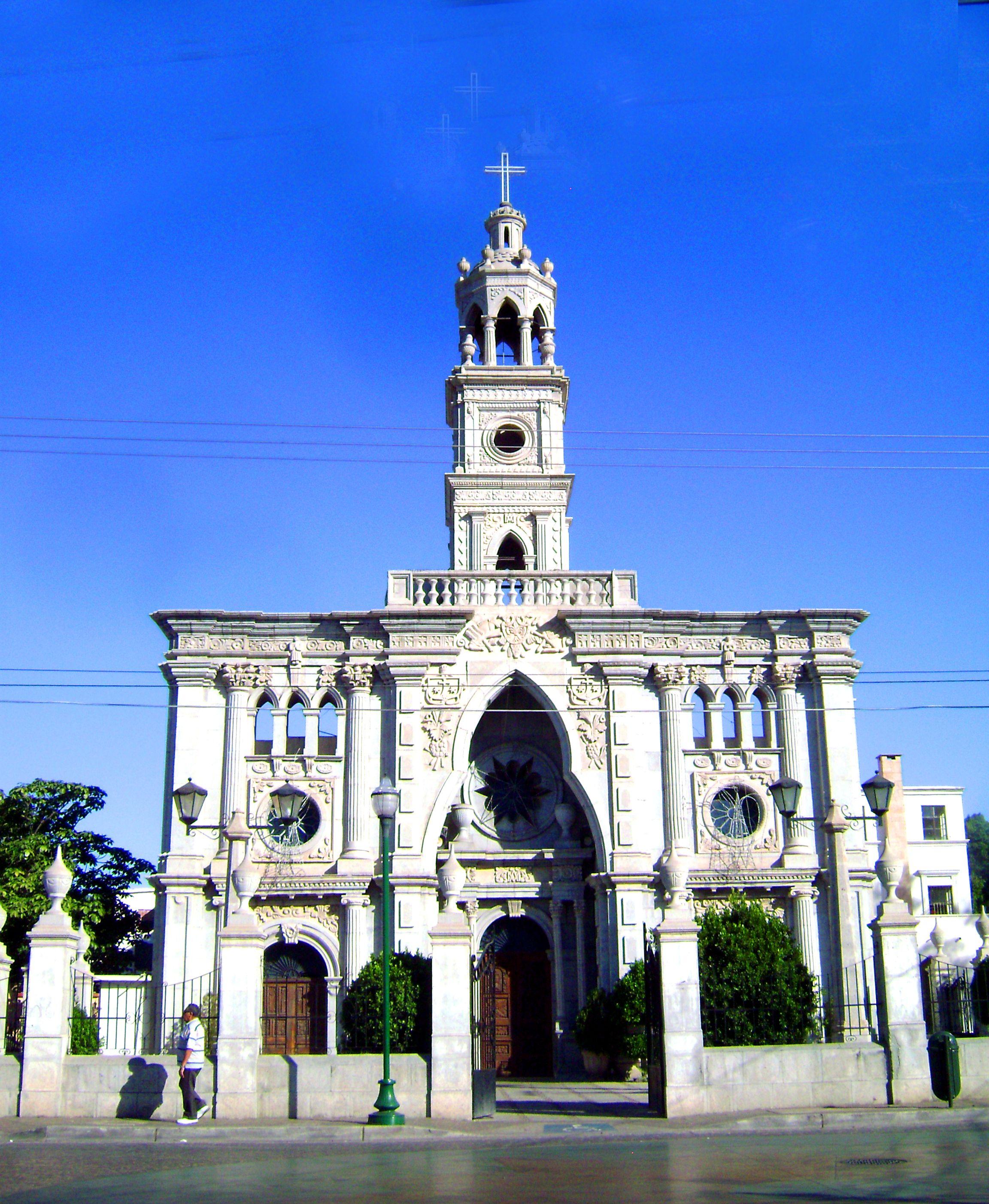 Church Hermosillo Sonora Xico Colonial Mexican