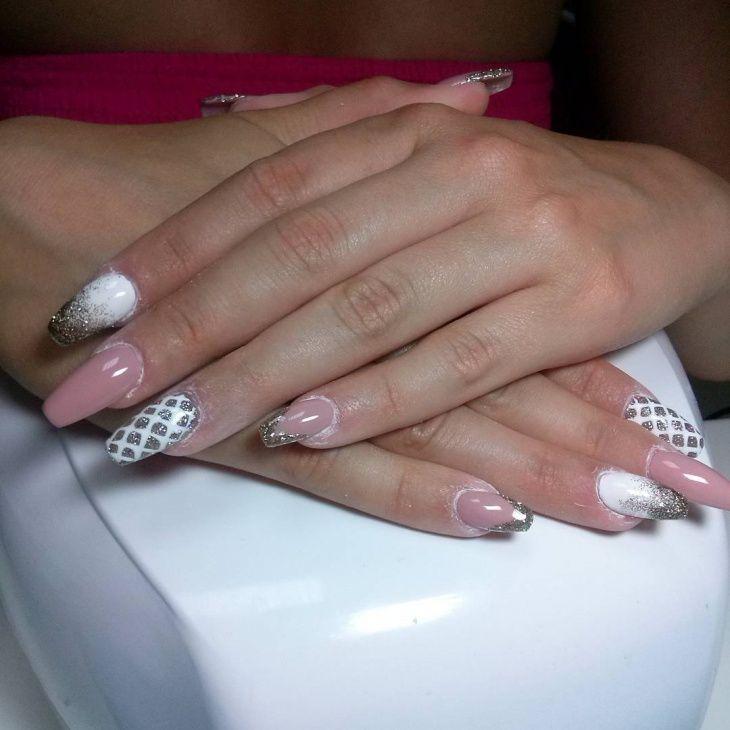 Prom Acrylic Nail Designs Choice Image - nail art and nail design