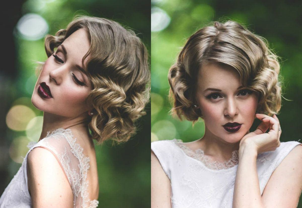 wedding hairstyles for bobs - wedding hairstyles | getting