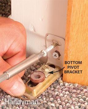 How To Fix Stubborn Bifold Closet Doors Bifold Doors Makeover Diy Door Bifold Closet Doors