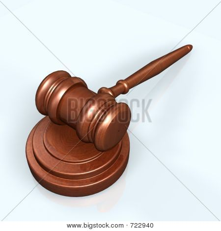 gavel poster, t-shirt, mouse pad
